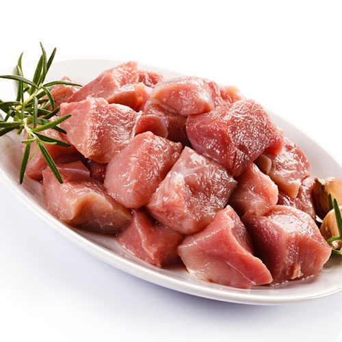 Pork Cubes (Fat trimmed and bone-less)